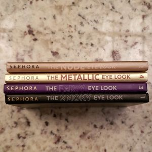 Sephora eye shadow booklet collection